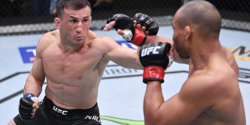 Мераб Двалишвили против Коди Стэманн встретятся на турнире UFC 1 мая