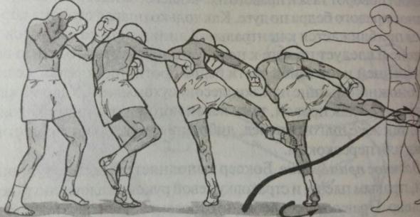 Лоу Кик - демонстрация удара