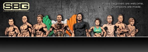 SBG Ирландия (Straight Blast Gym)