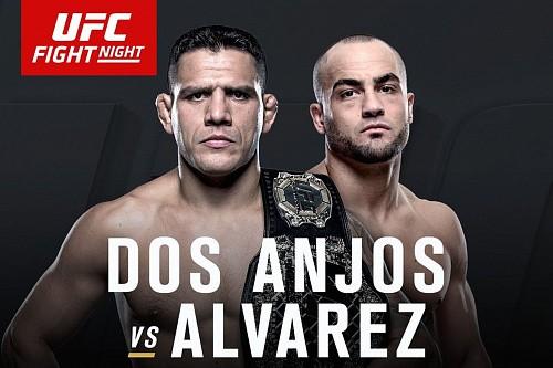 Результаты UFC FN 90: Альварес нокаутировал Дос Аньоса