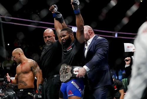 Титул UFC в полусреднем весе: От Милетича до Вудли