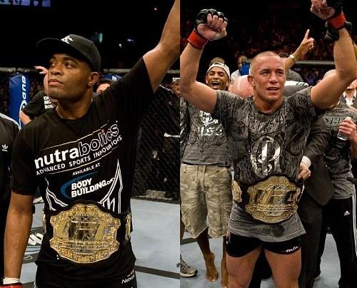 Слух: Жорж Сен-Пьер vs Андерсон Сильва в мейн ивенте UFC 206