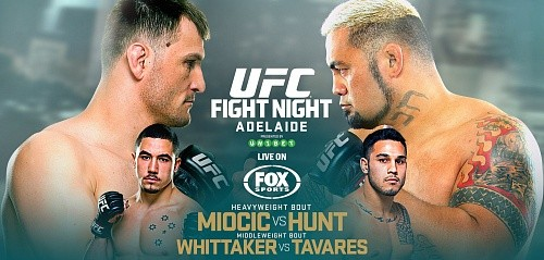 Результаты UFC Fight Night 65: Miocic vs. Hunt