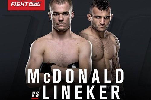 37b9fd5317766dff0fa4c2b2f50a6bdf - Результаты UFC FN 91: Линекер за 3 минуты разобрался с Макдональдом