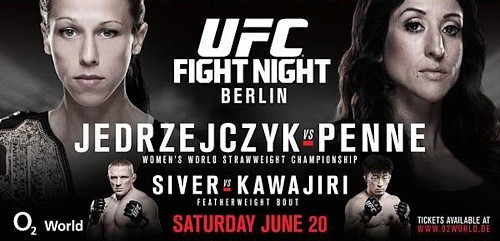 Результаты UFC Fight Night 69: Jędrzejczyk vs. Penne
