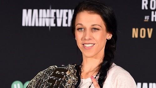 Джоанна Енджейчик: «Хочу стать первой женщиной в UFC, удерживающей одновременно пояса в двух категориях»