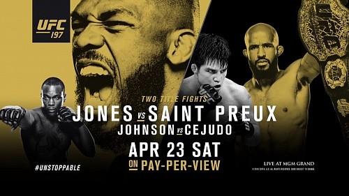 UFC 197: Где и когда смотреть
