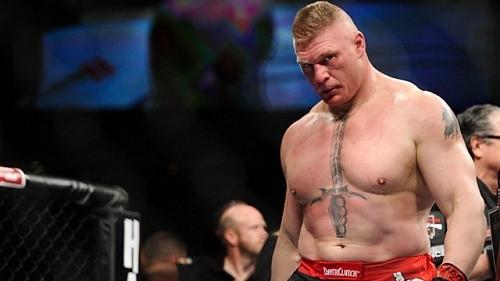 Брок Леснар: Я не боюсь пропустить удар от Ханта