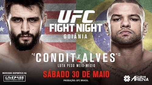 Результаты UFC Fight Night 67: Condit vs. Alves