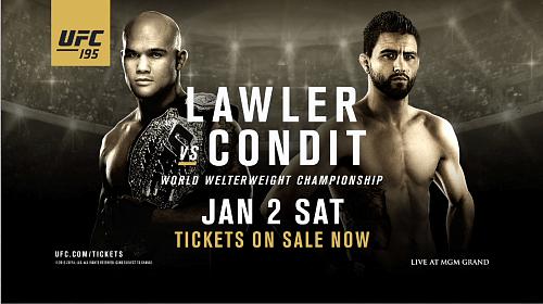Результаты UFC 195: Лоулер спорно побеждает Кондита