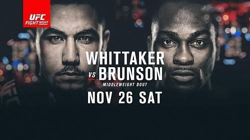 Результаты UFC Fight Night 101: Уиттакер нокаутирует Брансона