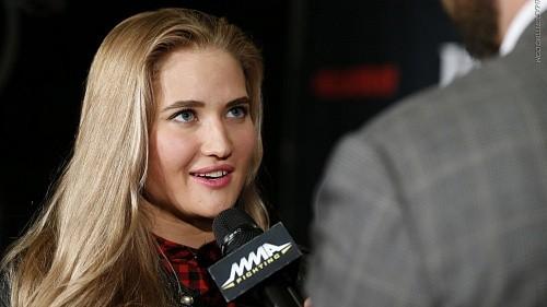 Стало известно имя соперницы Яньковой по дебюту в Bellator