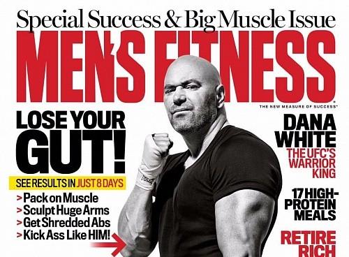 Дэйна Уайт на обложке ноябрьского Men's Fitness