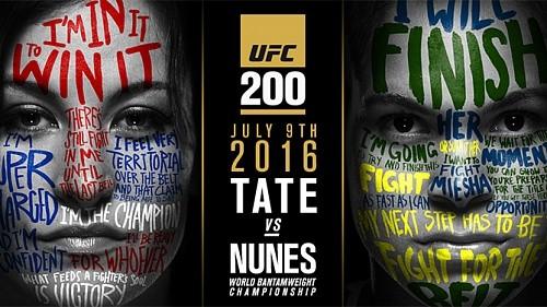 Миша Тейт и Аманда Нуньес – новые хедлайнеры UFC 200
