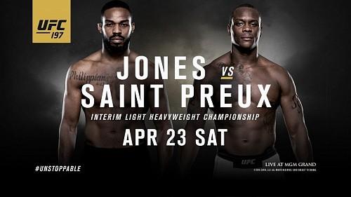Результаты UFC 197: Джон Джонс побеждает Сен-Прю