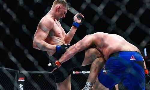 980991fbadf7195d99470b7eefc40b95 - Александр Волков свой второй бой в UFC не прочь провести против Трэвиса Брауна