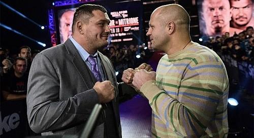 Бой Емельяненко vs Митрион будет показан по PPV