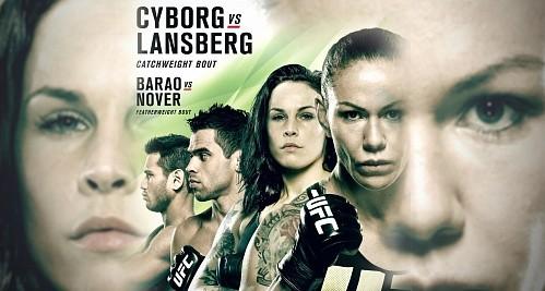 """Результаты UFC FN 95: """"Киборг"""" уничтожила Лансберг"""