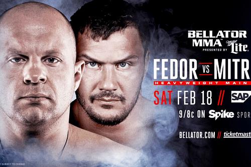Официально: Фёдор Емельяненко vs Мэтт Митрион 18 февраля