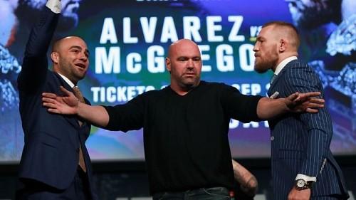 Эдди Альварес: «Макгрегор – просто парень с хорошим ударом с левой»