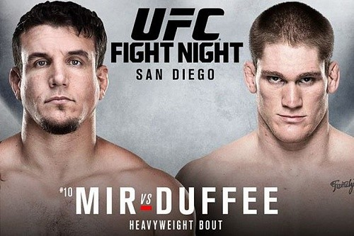 Результаты UFC Fight Night 71: Mir vs. Duffee