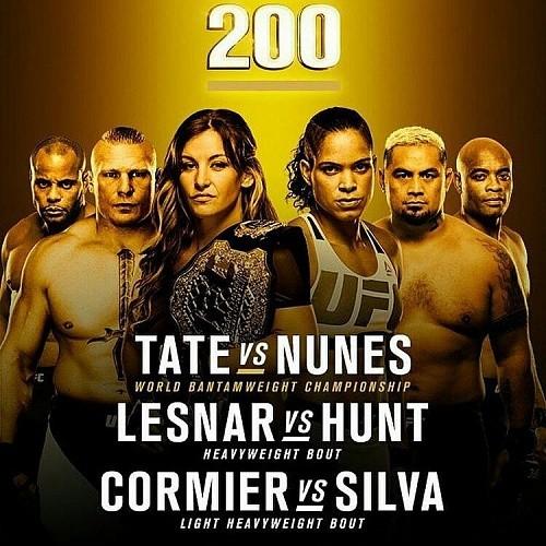 Результаты UFC 200: Нуньес, Леснар, Кормье и Альдо одерживают победы