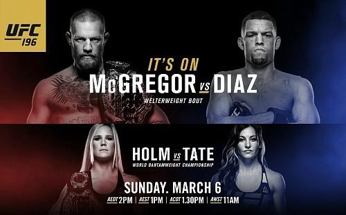 Результаты UFC 196: Диас задушил Макгрегора
