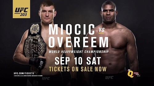 Результаты UFC 203: Миочич нокаутирует Оверима
