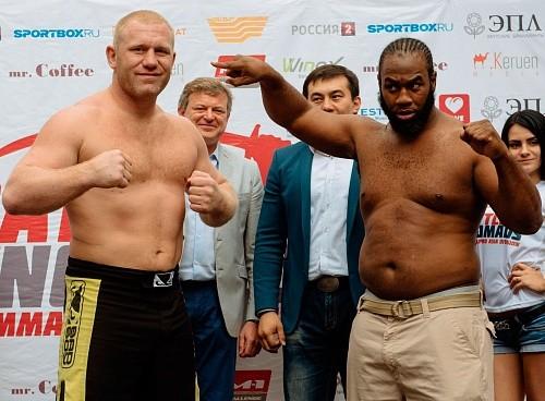 Второй бой Сергея Харитонова против Кенни Гарнера